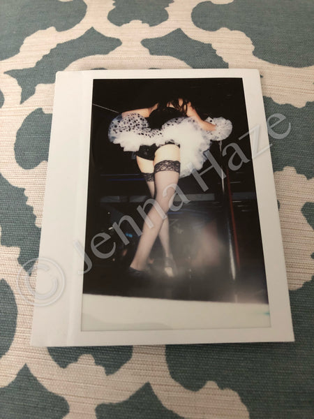 "LAST DANCE """"Outtake"" One-of-a-Kind Instax Photo (w/autograph) #7"
