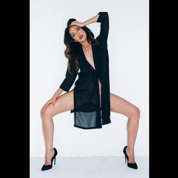 Black Suede Steve Madden Pumps from Instagram Photoshoot