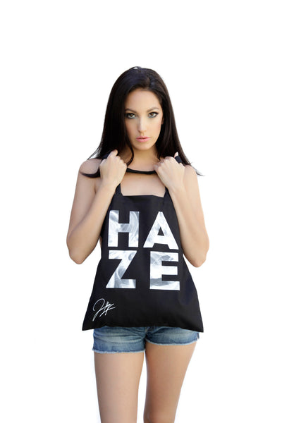 Black HAZE 'Smoke' tote bag~ Limited Edition