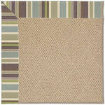 Creative Concepts-Cane Wicker Brannon Whisper Machine Tufted Rug Rectangle image