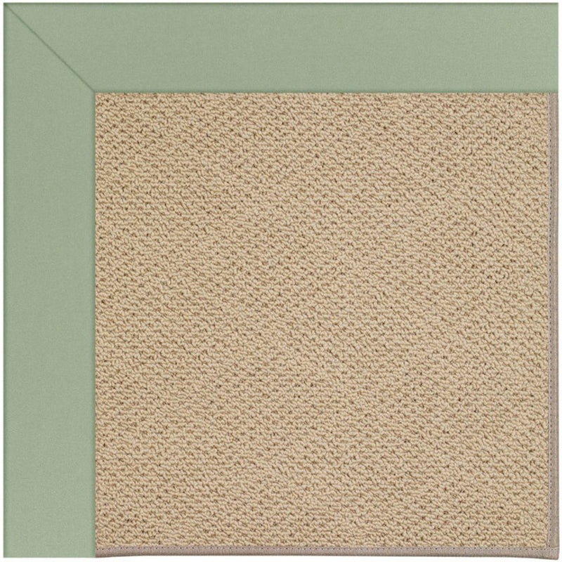 Creative Concepts-Cane Wicker Canvas Celadon Machine Tufted Rug Runner image