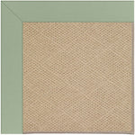 Creative Concepts-Cane Wicker Canvas Celadon Machine Tufted Rug Rectangle image