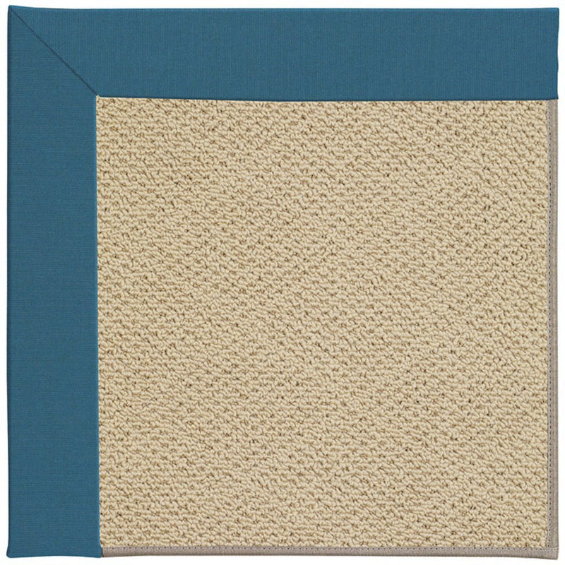 Creative Concepts-Cane Wicker Spectrum Peacock Machine Tufted Rug Rectangle image