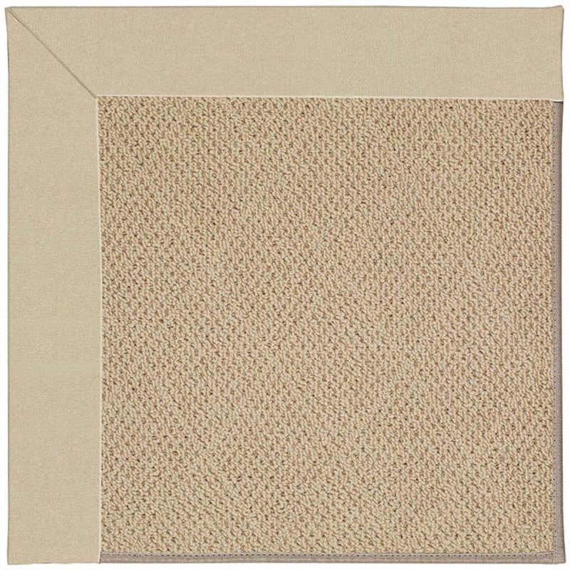 Creative Concepts-Cane Wicker Canvas Antique Beige Machine Tufted Rug Runner image