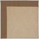 Creative Concepts-Cane Wicker Canvas Cocoa Machine Tufted Rug Runner image