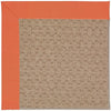 Creative Concepts-Grassy Mtn. Canvas Melon Machine Tufted Rug Rectangle image