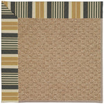 Creative Concepts-Raffia Long Hill Ebony Machine Tufted Rug Runner image
