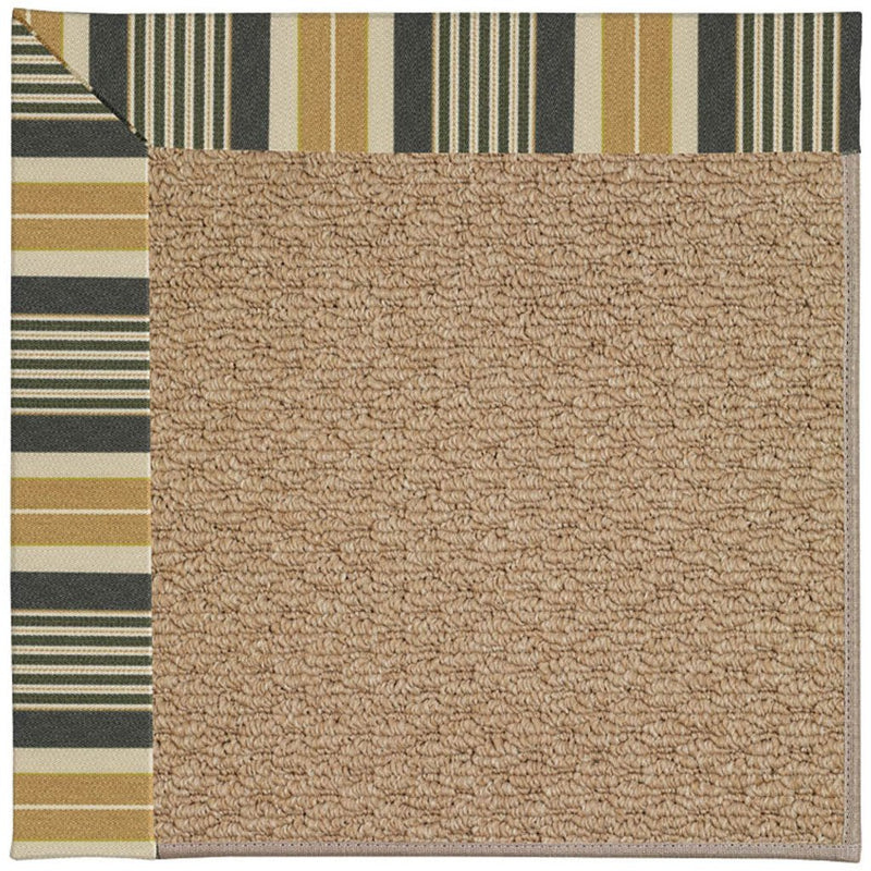 Creative Concepts-Raffia Long Hill Ebony Machine Tufted Rug Rectangle image