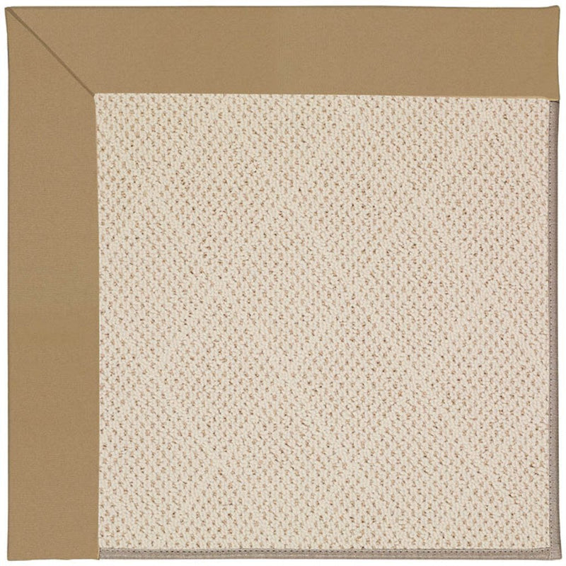 Creative Concepts-White Wicker Canvas Linen Machine Tufted Rug Rectangle image
