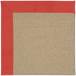 Creative Concepts-Sisal Canvas Paprika Machine Tufted Rug Runner image