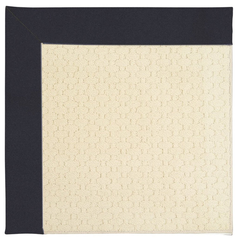Creative Concepts-Sugar Mtn. Canvas Navy Machine Tufted Rug Runner image