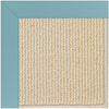 Creative Concepts-Beach Sisal Canvas Mineral Blue Machine Tufted Rug Rectangle image