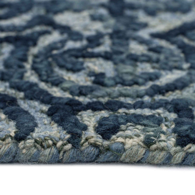 Avanti-Tanda Chambray Hand Tufted Rug Rectangle Cross Section image