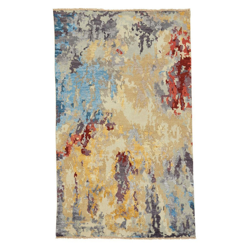 Tasanee Amber Multi Hand Knotted Rug Rectangle image