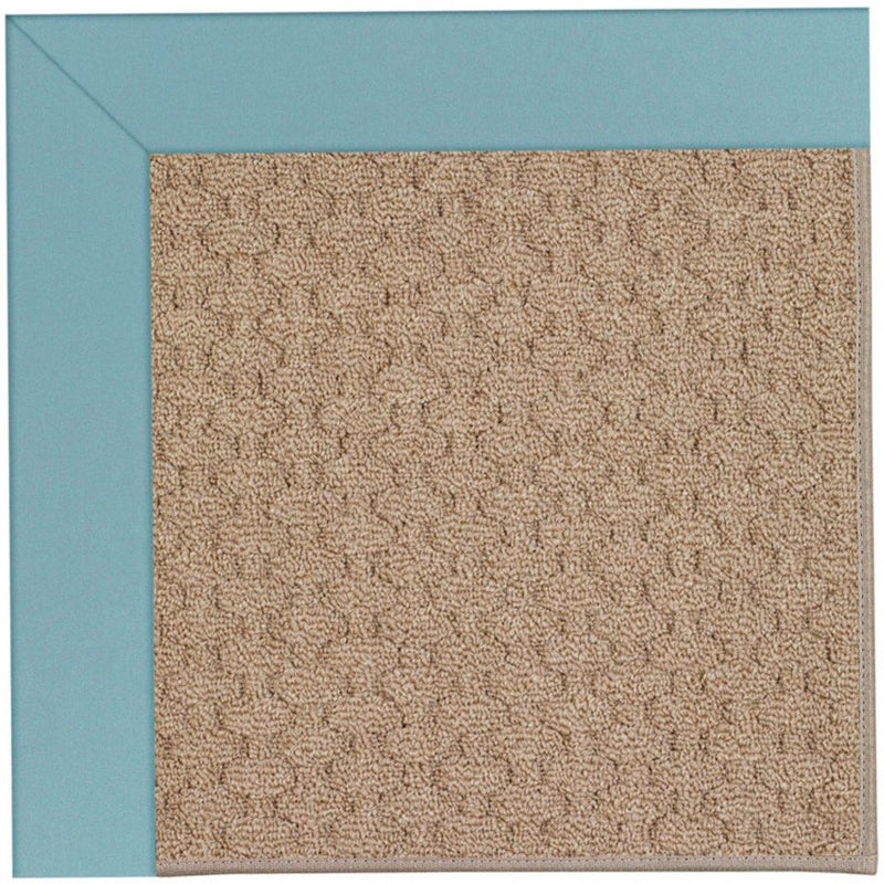 Creative Concepts-Grassy Mtn. Canvas Mineral Blue Machine Tufted Rug Rectangle image