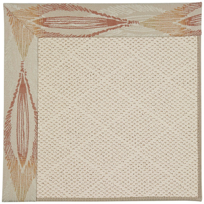 Creative Concepts-White Wicker Empress Clay Machine Tufted Rug Rectangle image