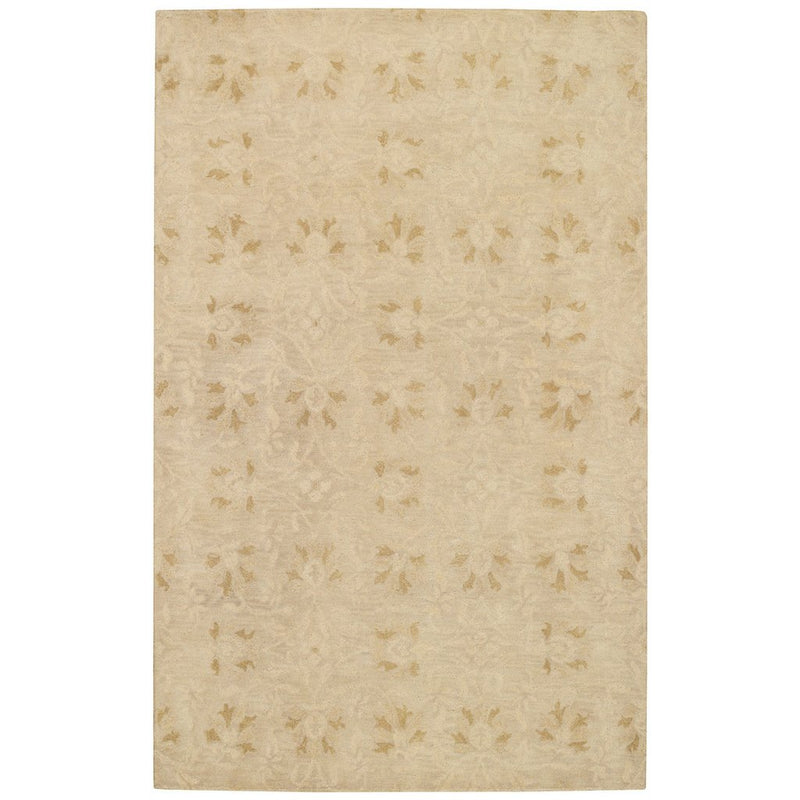 Charming Suzani Gold Hand Tufted Rug Rectangle image