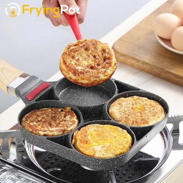 FryingPot™ - Four Hole Eggs & Pancake Maker