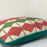 SAPOWAYDIDI CUSHION - RED, MUSTARD, GREEN