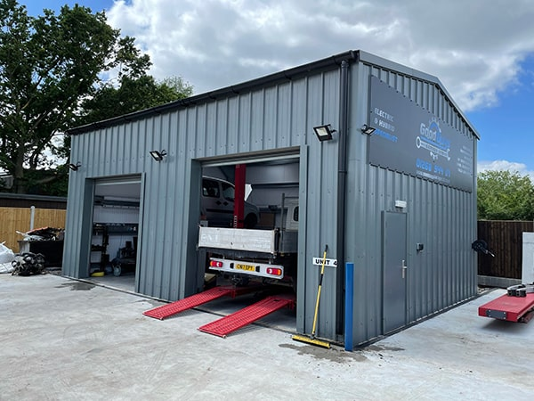 Good Guys Garage Completed