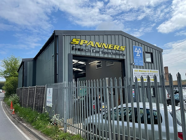 Spanners Garage Completed