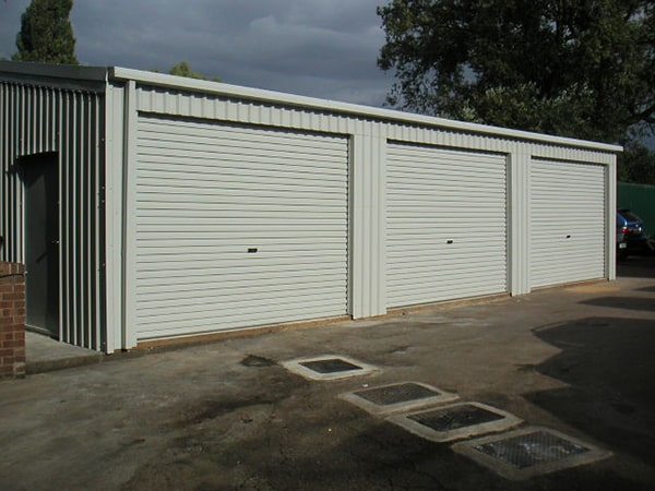 Triple Garage Completed