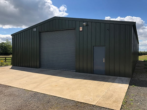 Westaway Farm Building Completed