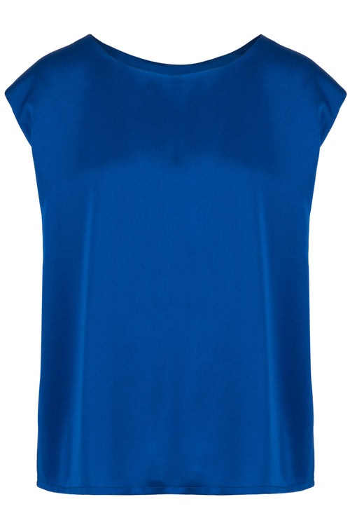 The Trapeze Top - Cobalt