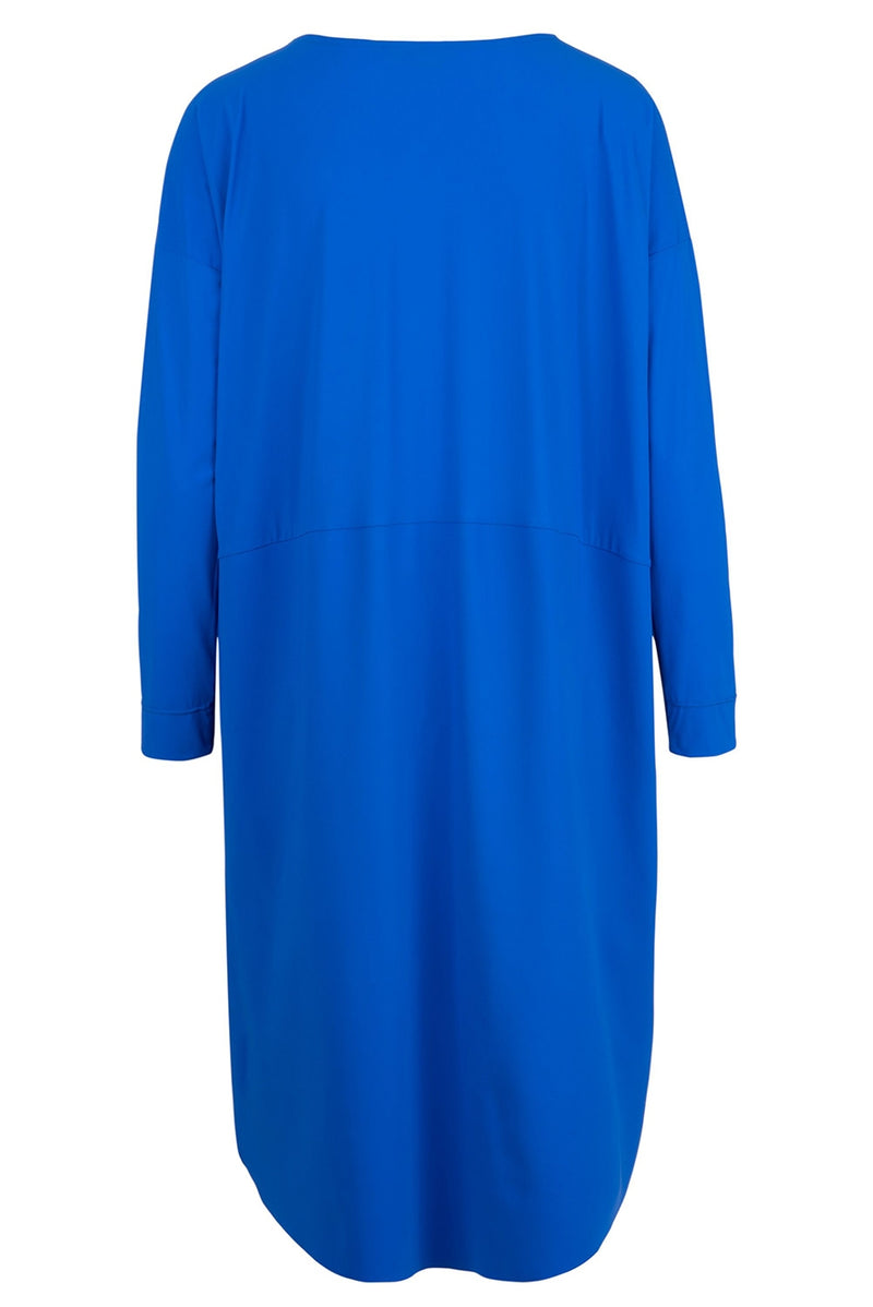 The New Cocoon Dress - Cobalt