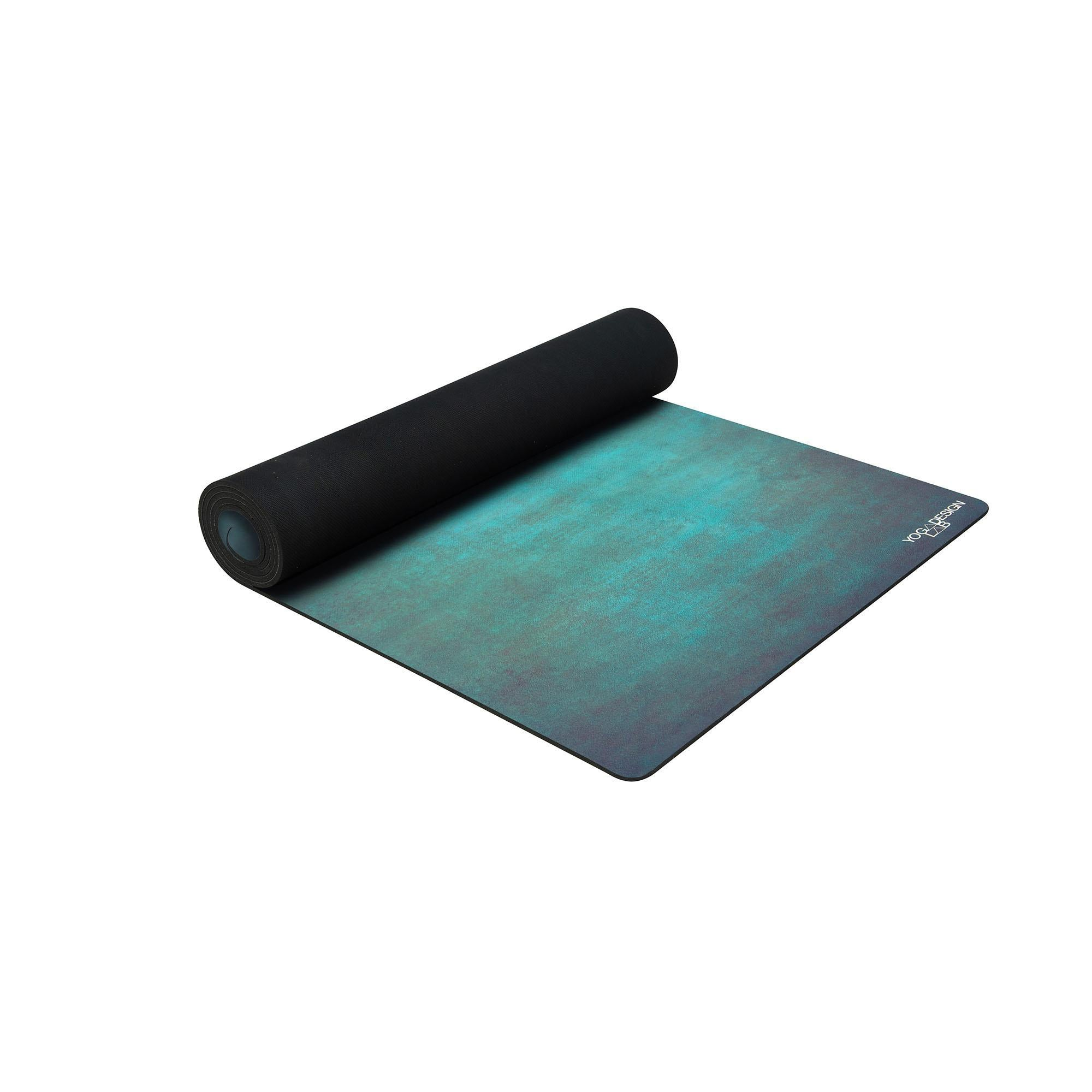 Combo Yoga Mat 5.5mm Aegean Green