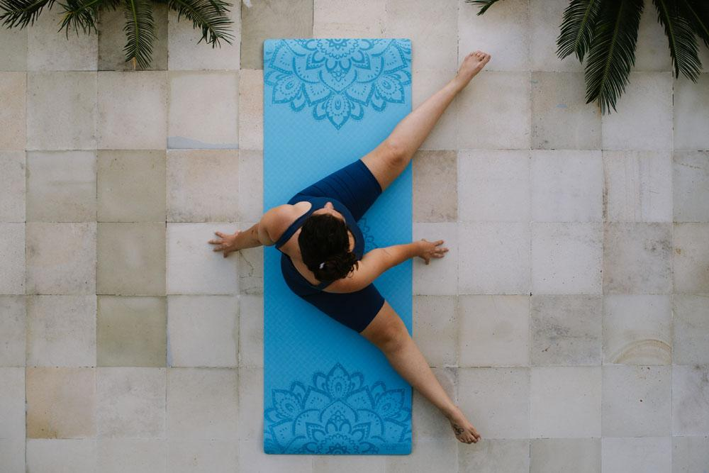 Flow Yoga Mat 6mm Pure Mandala Aqua