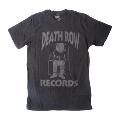 Death Row Black on Black Shirt