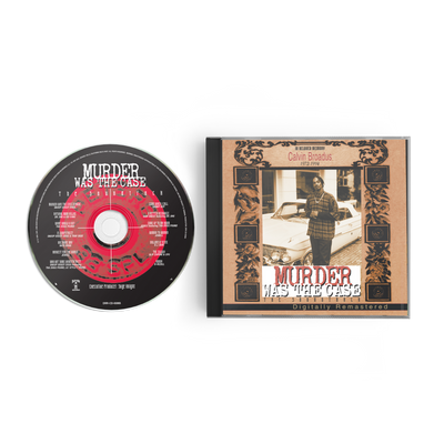 Murder Was The Case CD