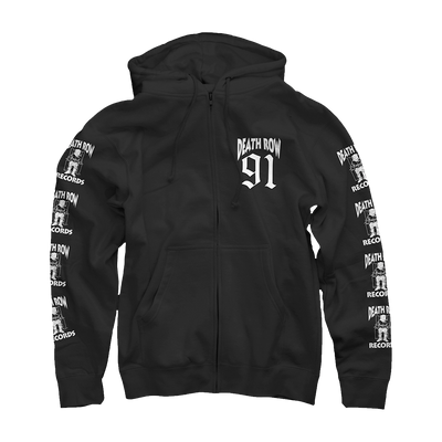 Death Row Zip Up Hoodie