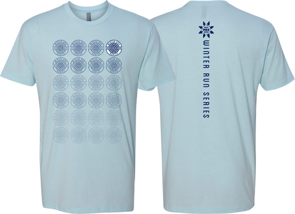 Winter Run Series™ Ice Blue T-Shirt