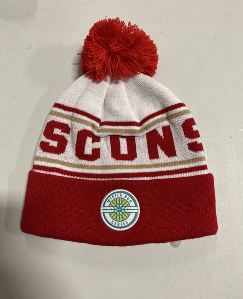Winter Run Series™ Wisconsin BOCO Pom Pom Hat