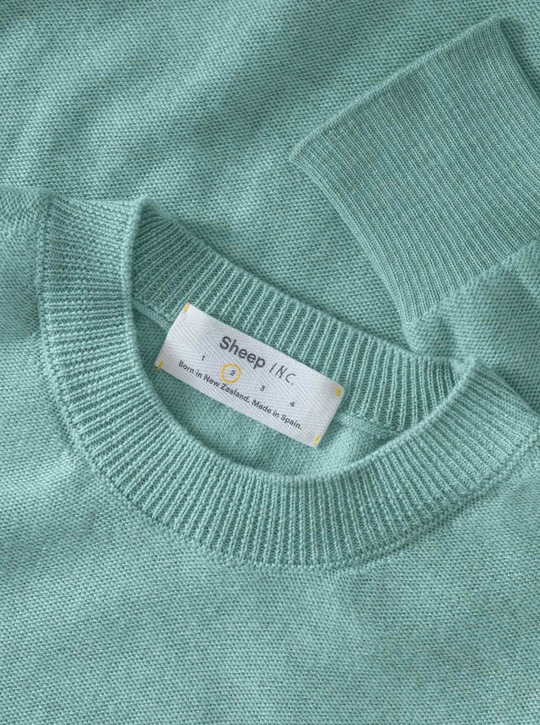 The Light Knit - Aqua green