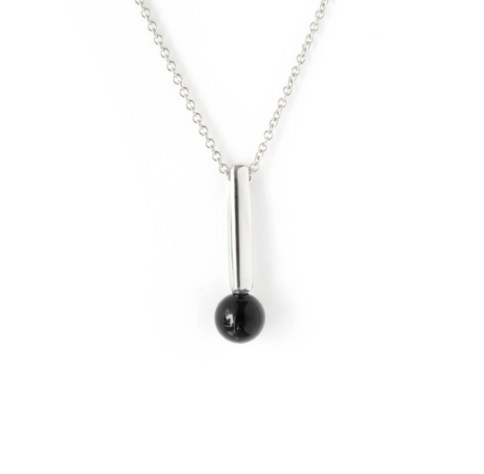 The Droplet Pendant - Silver