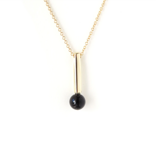 The Droplet Pendant - Gold