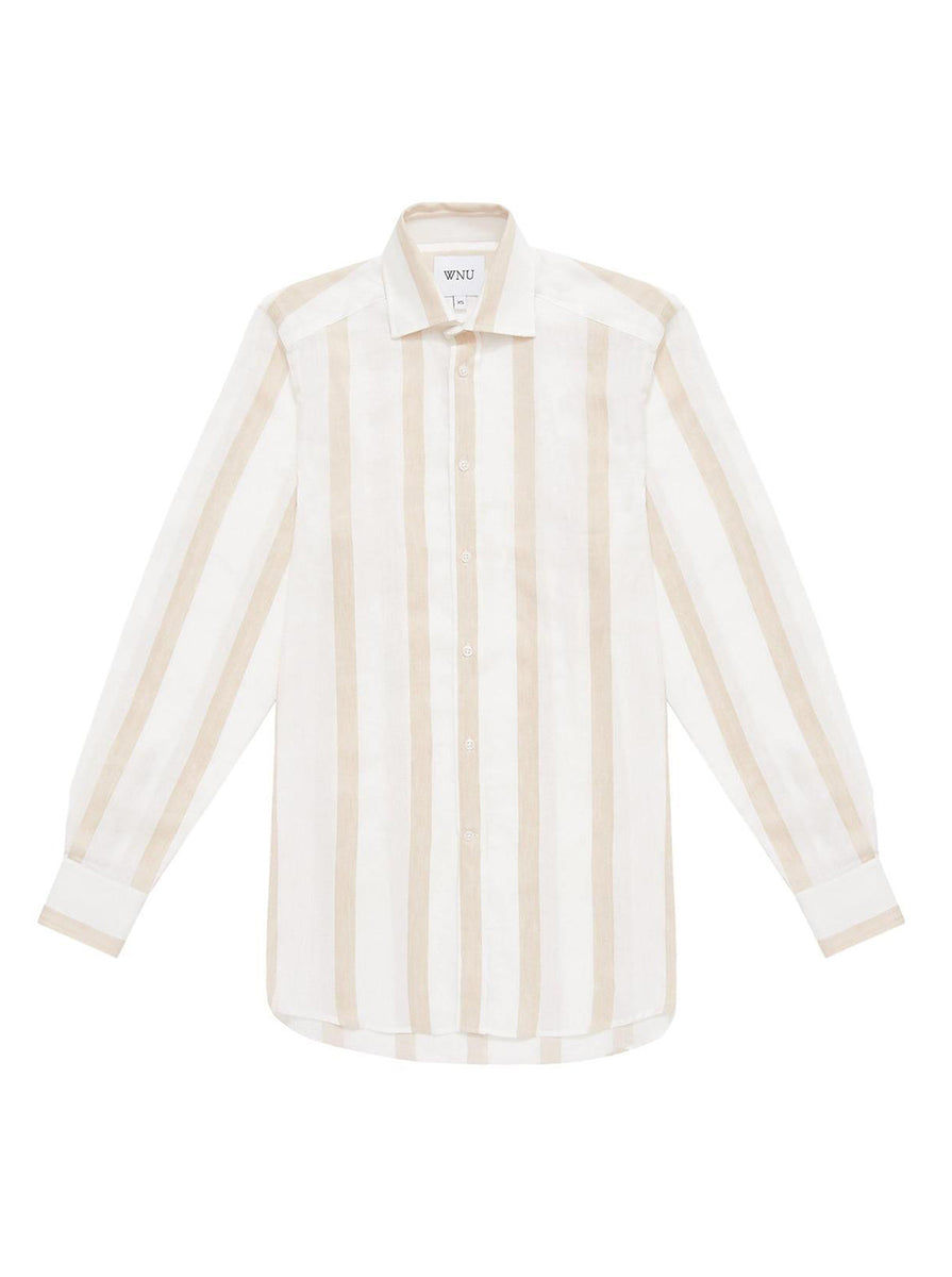 Boyfriend Weave Cream Stripe