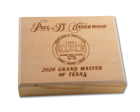 2020 Paul Underwood Commemorative Knife Box