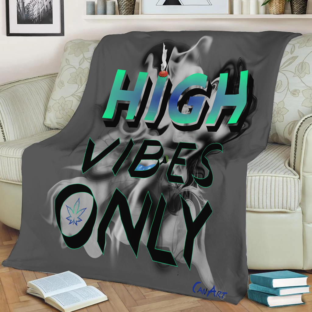 Couverture High Vibes Only