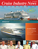 Cruise Industry News Summer issue and Kolikof Caviar