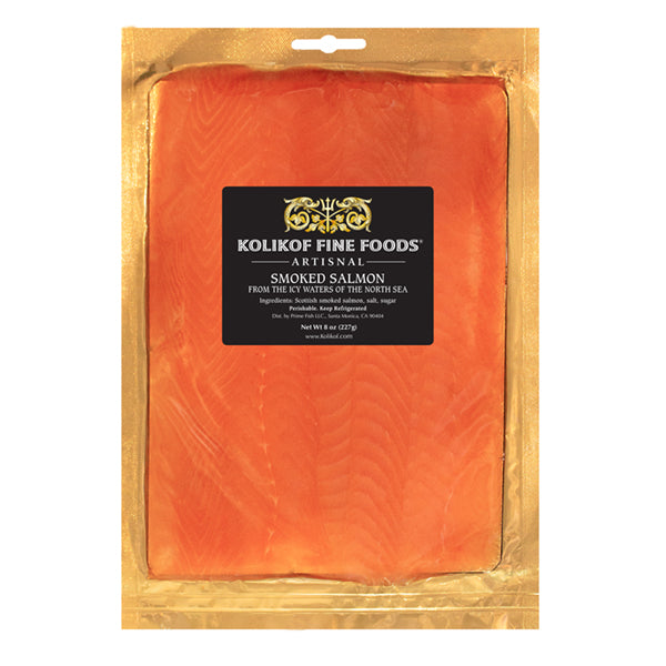 Buy smoked salmon online from Kolikof.com.