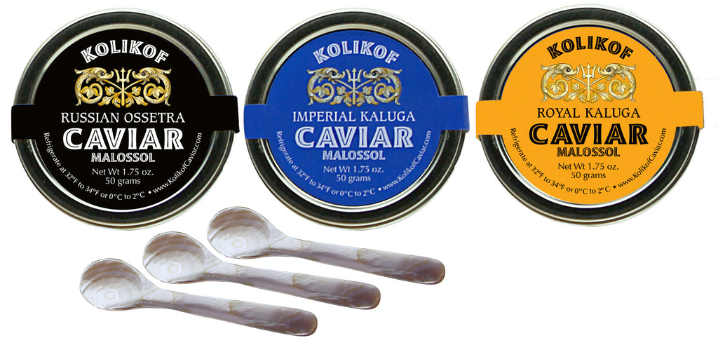 Save $103 — Sturgeon Caviar Gift Set — $450