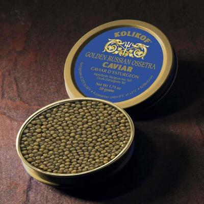 Golden Osetra (or Ossetra) Caviar by Kolikof