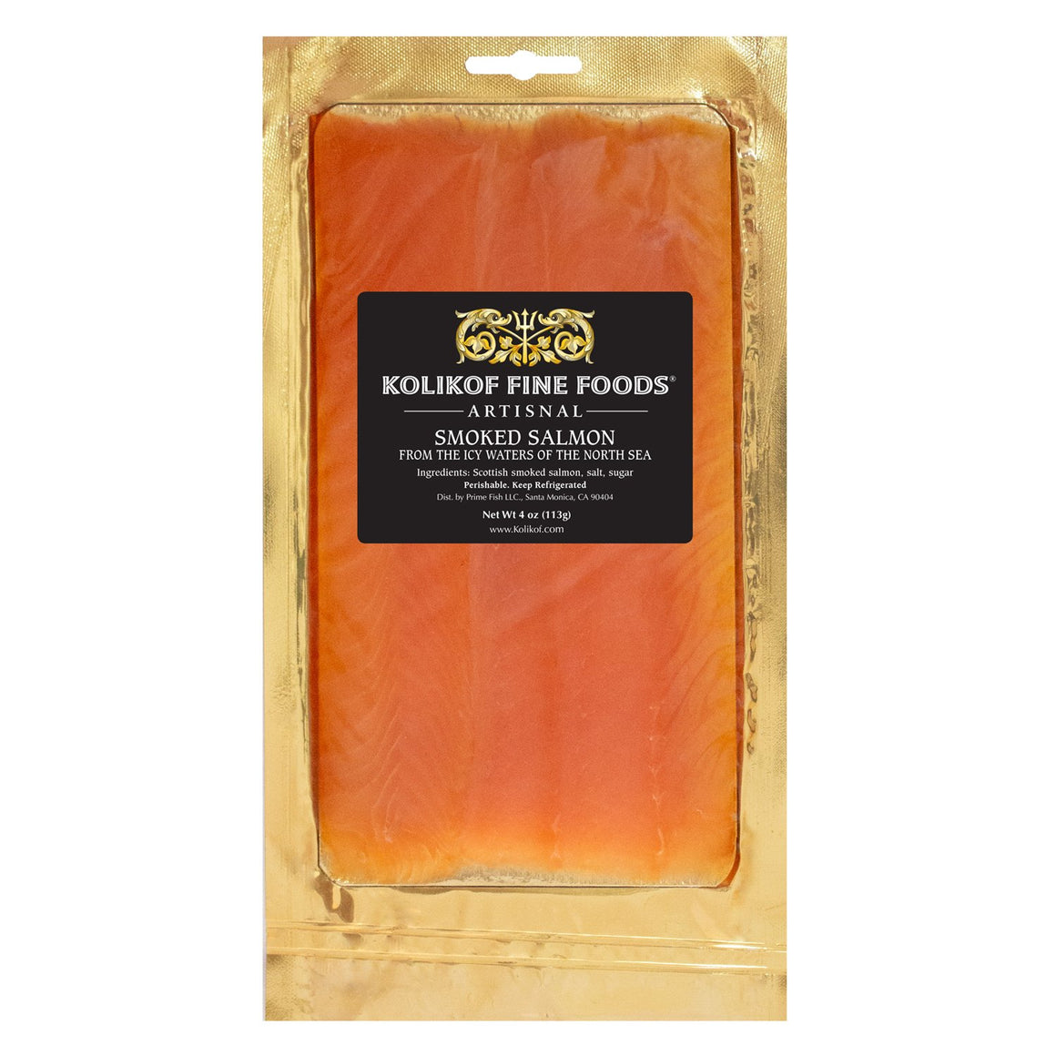 Buy best smoked salmon (lox). Long-cut, pre-sliced.