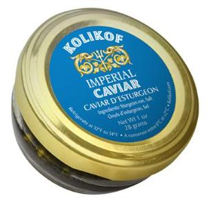 Buy caviar blinis and creme fraiche online at Kolikof Caviar. The best caviar.
