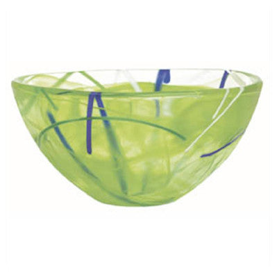 Fine Kosta Boda Glassware, Contrast Bowl in green