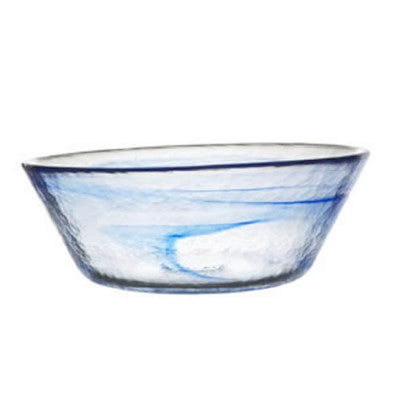 Kosta Boda Mine Bowl Blue Large